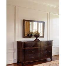 Metropolitan 6 Drawer Dresser with Mirror by Brownstone Furniture