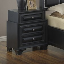 Edwardsville 3 Drawer Nightstand by Darby Home Co®
