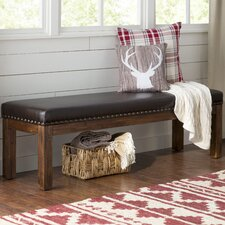 Lyons Wood Kitchen Bench by Loon Peak®