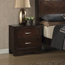 Tahoe 2 Drawer Nightstand by Wildon Home ®