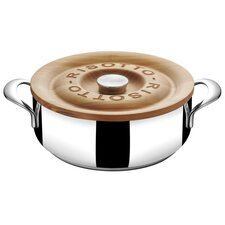 Heritage 4 Qt. Risotto Casserole Pan with Lid