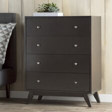 Astra 4 Drawer Chest by Mercury Row®