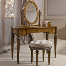 Elite Vanity with Mirror by Annibale Colombo