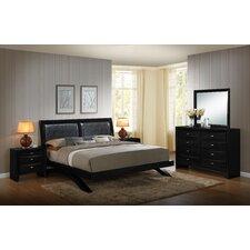 Blemerey 5 Piece Platform Bedroom Set by Roundhill Furniture