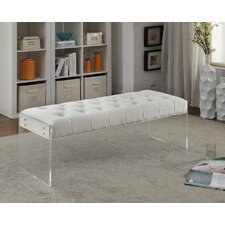 Jane Upholstered Entryway Bench by Meridian Furniture USA