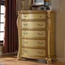 Lavish 5 Drawer Chest by Meridian Furniture USA