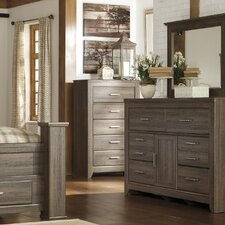 Granite Range 6 Drawer Dresser with Mirror by Loon Peak®