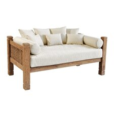 Tahoe Reclaimed Teak Day Bed with Cushions by Casual Elements