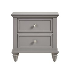 Isabella 2 Drawer Nightstand by Darby Home Co®