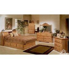 Country Heirloom Platform Customizable Bedroom Set by Bebe Furniture