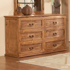 Capella 6 Drawer Dresser by Avalon Furniture
