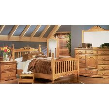 Country Heirloom Panel Customizable Bedroom Set by Bebe Furniture