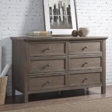 6 Drawer Dresser by RunFine Group