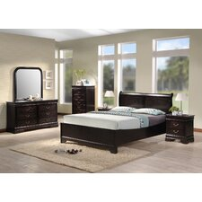 Platform Customizable Bedroom Set by Best Quality Furniture Reviews