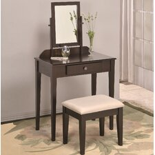 Vanity Set with Mirror by American Furniture Classics