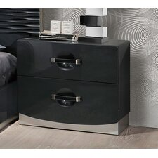 Parksley 2 Drawer Nightstand by Wade Logan®