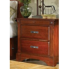 Kalispell 2 Drawer Nightstand by A-America