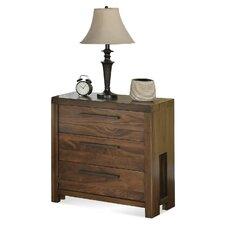 Colton 3 Drawer Nightstand by Loon Peak®