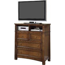 Rexford 4 Drawer Media Chest by Loon Peak®
