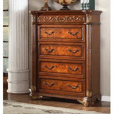 Royal 4 Drawers Chest by Meridian Furniture USA
