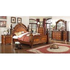 Royal Storage Panel Customizable Bedroom Set by Meridian Furniture USA