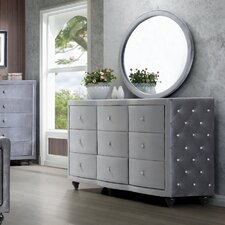 Hudson 9 Drawer Dresser by Meridian Furniture USA