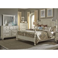Pearson Four Poster Customizable Bedroom Set by One Allium Way®