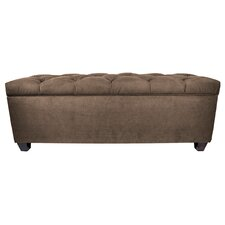 Obsession Upholstered Storage Bedroom Bench by MJL Furniture