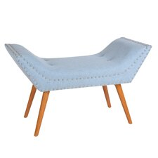 Gina Upholstered Bedroom Bench by Porthos Home