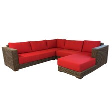 Santa Barbara Sectional with Cushions by ElanaMar Designs