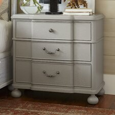 Dogwood 3-Drawer Nightstand by Paula Deen Home
