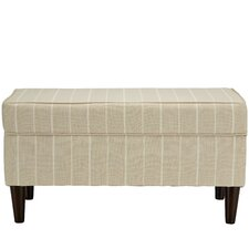 Osage Cotton Upholstered Storage Bedroom Bench by Beachcrest Home