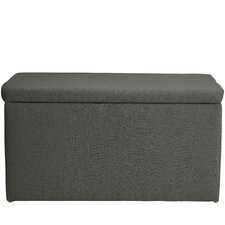 Abbot Linen Polyeste Upholstered Storage Bedroom Bench by Darby Home Co®