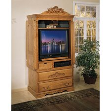 Country Heirloom Large TV Armoire by Bebe Furniture Best Reviews