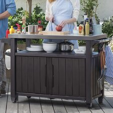 Unity Bar Serving Cart by Keter