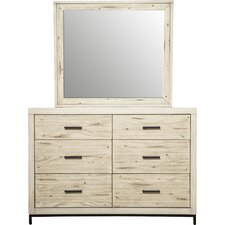 Dayana 6 Drawer Dresser by Bungalow Rose