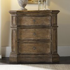 Solana 3 Drawer Nightstand by Hooker Furniture