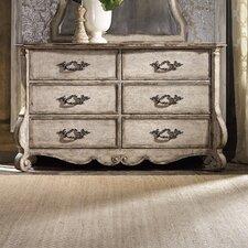 Chatelet 6 Drawer Dresser by Hooker Furniture