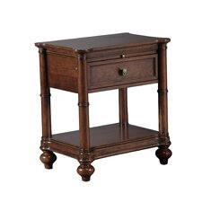 Passage 1 Drawer Nightstand by Bombay Heritage