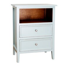 Lily 2 Drawer Nightstand by Porthos Home
