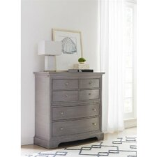 Transitional 6 Drawer Chest by Stanley Furniture