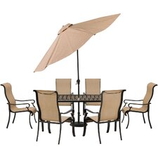 Brigantine 7 Piece Dining Set by Hanover
