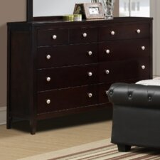 Jakayla 8 Drawer Dresser by A&J Homes Studio