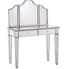 Kaila Vanity Set with Mirror by House of Hampton