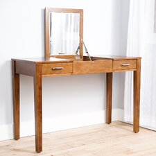 Haven Home Vanity Desk with Mirror by Hives and Honey