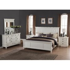 Regitina Panel 5 Piece Bedroom Set by Roundhill Furniture Sale