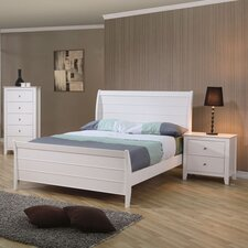 Clarendon Sleigh Customizable Bedroom Set by Beachcrest Home