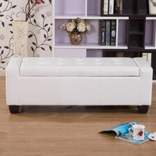 Mackenzie Upholstered Storage Entryway Bench by Warehouse of Tiffany