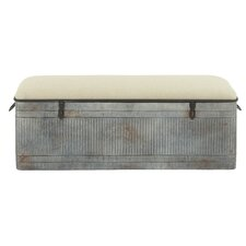 Metal Entryway Storage Bench by Cole & Grey