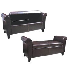 Storage Ottoman Bedroom Bench by Warehouse of Tiffany